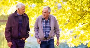 Social connection for men in their 80s is crucial. Photograph: iStock