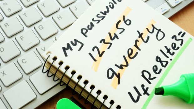 A password management service will store all your passwords together under one master password. Photograph: iStock
