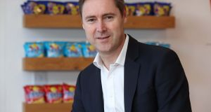 Tayto Snacks managing director Jeff Swan. The business also owns the King crisps brand, Hula Hoops, plus the Perri and KP snack brands