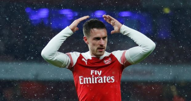 1e8770e86f7 Juventus have announced the signing of Arsenal midfielder Aaron Ramsey