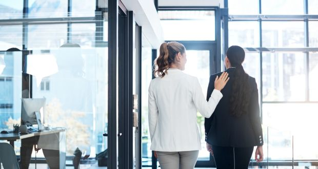 Only a third of women view organisations as empathetic compared with 70 per cent of men. Photograph: iStock