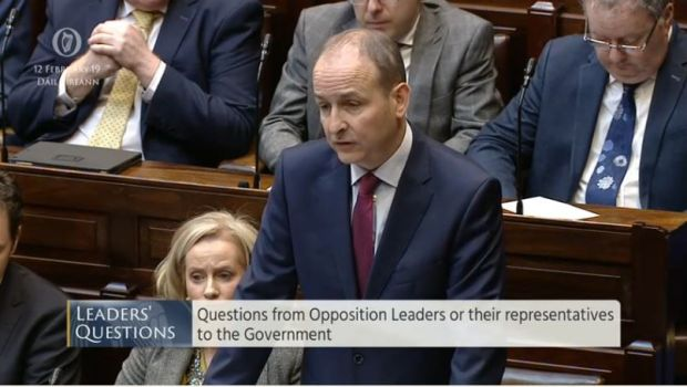 Children's Hospital discussion in Dáil.