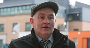 Patrick Quirke (50)  has pleaded not guilty to the murder of Bobby Ryan, a part-time DJ going by the name Mr Moonlight. Photograph: Collins Courts