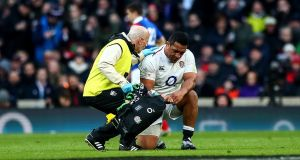 England's Mako Vunipola will miss the rest of the Six Nations.