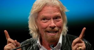 Nearing 50: Richard Branson founded Virgin in 1970