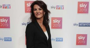 Comedian and actor Deirdre O'Kane hosted a Sky event previewing its upcoming shows. Photograph: Robbie Reynolds.