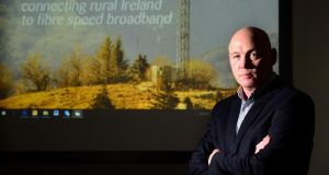 "Imagine Communications Group chief executive Seán Bolger will flag seven ""existential threats"" to the National Broadband Plan. Photograph: Dara Mac Dónaill"