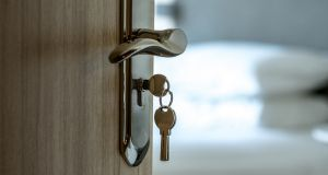 Bedroom doors are locked but not in all cases. Photograph: iStock