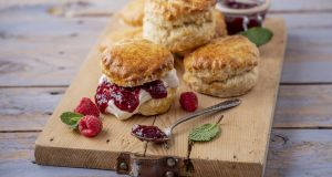 Plain scones. Photograph: Harry Weir Photography