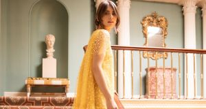 Liv  yellow tulle dress, €895 – Louise Kennedy