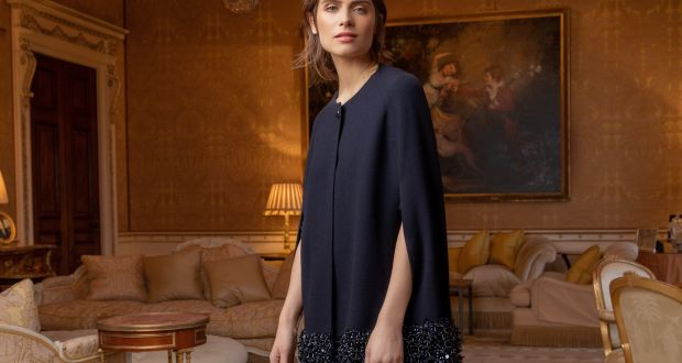 c6e12fa9b2 Aria lavishly embellished cape, €2,500 and Piper Capri trousers, €495 –  Louise