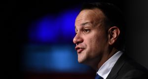 Leo Varadkar said that sometimes decisions were taken 'often from the heart rather than the head'. Photograph:  Clodagh Kilcoyne/Reuters