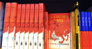 Copies of The Catcher in the Rye by JD Salinger. Photograph: Mandel Ngan/AFP/Getty Images