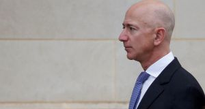 Jeff Bezos: the Amazon boss   disclosed attempts to blackmail him by the publishers of the lurid tabloid, the National Inquirer. Photograph:  Joshua Roberts/Reuters  Jeff Bezos: the Amazon boss   disclosed attempts to blackmail him by the publishers of the lurid tabloid, the National Inquirer. Photograph:  Joshua Roberts/Reuters