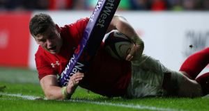 Scott Williams has been released from the Wales squad because of a back injury. Photograph: Hannah McKay/Reuters