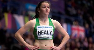 For the second January running,  Phil Healy  has begun her new year in a rather speedy fashion. Photograph: Morgan Treacy/Inpho