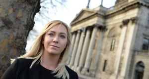 Barrister Rachel Baldwin said a woman at the Dolphin House Family Law Court in Dublin tried to push her down the stairs after a hearing. Photograph: Dara Mac Dónaill / The Irish Times