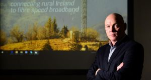 Imagine Communications chief executive Seán Bolger. The company is aiming to roll out a new 5G fixed broadband network within the next 18 months. Photograph: Dara Mac Dónaill