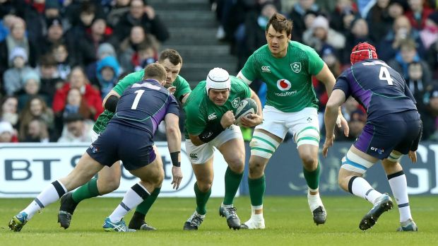 Rory Best had a 100% tackle rate against Scotland. Photograph: David Rogers/Getty Images