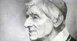 Pope Francis has approved a miracle needed to make Cardinal John Henry Newman, an Anglican convert, a saint. Photograph:  AP