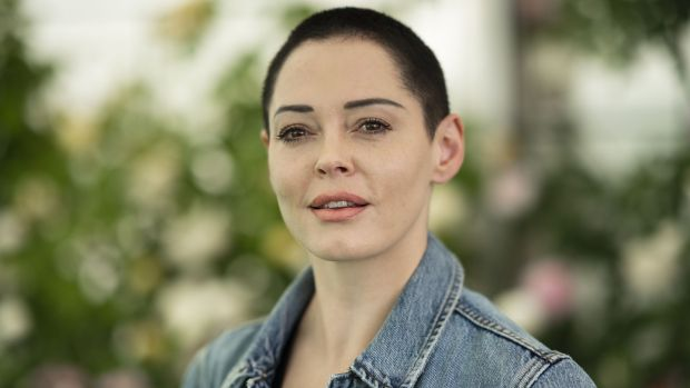 Rose McGowan has accused Weinstein of rape. File photograph: David Levenson/Getty Images