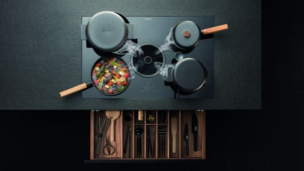 There is a move towards induction hobs away from gas as it now offers the same adjustability and has an added safety factor.