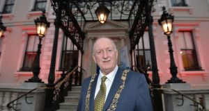 Lord Mayor of Dublin Nial Ring. Photograph: Alan Betson