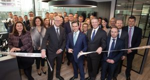 S&P opened its Dublin office on Thursday where it employs 20 staff. Photograph: Naoise Culhane