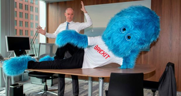 Brexit is a big blue furry monster, say the Dutch