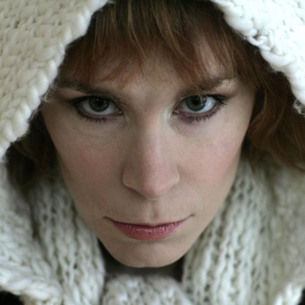 Tana French in 2009, early in her writing career. Photograph: Frank Miller