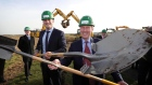 Residents protest as Taoiseach turns sod on new Dublin Airport runway