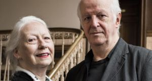 Marie Mullen and Seán McGinley: 'We don't talk about work at home.' Photograph: Luca Truffarelli