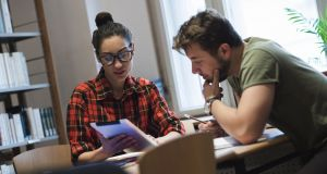 Many colleges have low minimum entry requirements for what are often highly demanding courses. Photograph: Getty Images