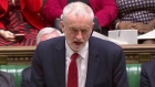Corbyn accuses May of 'running down the clock' as Brexit vote defeated