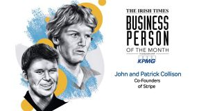 'The Irish Times' Business People of the Month: Stripe founders Patrick and John Collison