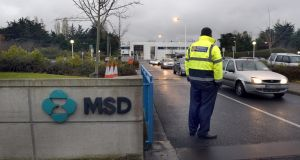 Pharmaceutical company MSD has submitted plans for a major expansion of its Carlow facility. Photograph: Brenda Fitzsimons