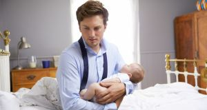 """Depressed fathers tend to play and engage less with their children and talk more negatively about and to them,"" according to the UK's National Childbirth Trust."