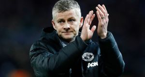Ole Gunnar Solskjær is in so many ways United's dream candidate. Photograph: Martin Rickett/PA Wire