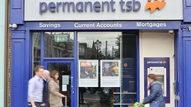 Analysts estimate that as PTSB's balance sheet is cleaned up, it will expose a business that is generating about a 4 per cent return on equity for the foreseeable future. Photograph: Alan Betson