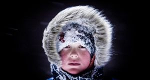 1st - Portrait: Tom Honan - Young boy during Beast from the East storm