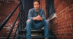 X-File factor: David Duchovny is in Dublin's Academy on Wednesday. No shouting for Californication or Mulder & Scully, now