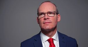 Simon Coveney: said such a package must not be 'unreasonable' or 'put an unfair burden on Ireland'. Photograph: Hannah McKay/Reuters
