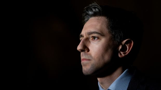 Minister for Health Simon Harris said the protest outside his house last weekend was 'a clear attempt to intimidate my family and my neighbours. Photograph: Tom Honan/The Irish Times.