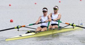 Ireland's Mark O'Donovan and Shane O'Driscoll won't receive funding from Sport Ireland this year. Photo: Setlev Seyb/Inpho