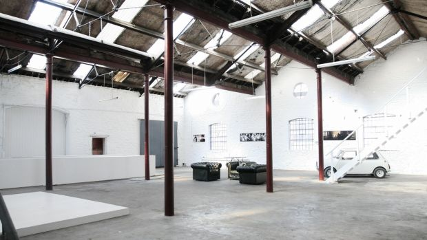 D-Light Studios in Dublin's north-east inner city was once a garage and a woollen mills but now houses photoshoots, filming and start-ups, and supports emerging artists. Photograph: Agata Stoinska