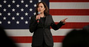Kamala Harris visits South Carolina, one of the states to hold early Democratic primaries. Harris and other Democrats hoping to secure the party's nomination for 2020 have made the state a priority. Photograph: Reuters/Elijah Nouvelage