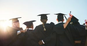 A total of 78 per cent of graduates are in employment or due to start a job nine months after leaving college, the latest figures show.