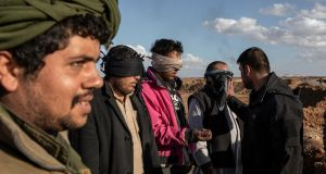 Some EU countries have said they are preparing to take back former jihadists captured in Syria. Photograph: Ivor Prickett/The New York Times