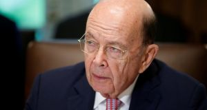 "US commerce secretary Wilbur Ross: he submitted the ""section 232"" national security report. Photograph: Leah Millis/Reuters"