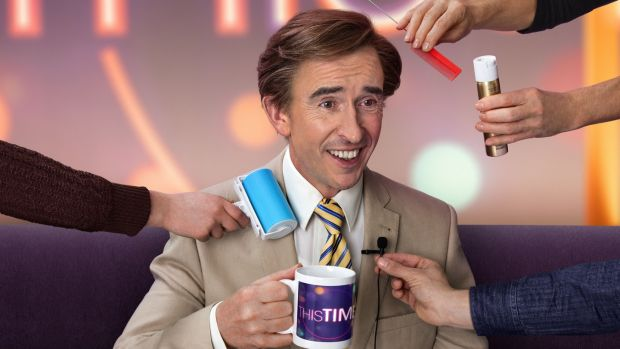 This Time with Alan Partridge. Photograph: Andy Seymour/BBC